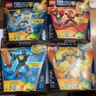 Lego Nexo Knights Battle Suit Bundle of 4 70362-70363-70365-70366