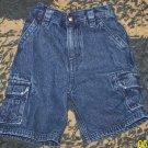 Nice NN boys 4T Arizona denim cargo shorts