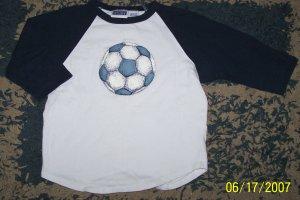 NN boys sz 5/6 Sonoma 3/4 sleeve soccer ringer shirt