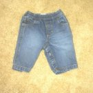 ADORABLE LN boys/girls NB 0-3 mos Old Navy jeans