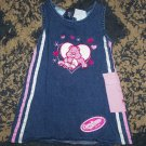 Adorable LN girls 3T Care Bears tenderheart denim dress