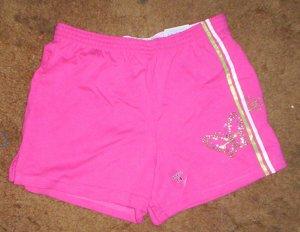 DARLING NWT girls sz 7/8 Arizona pink butterfly shorts