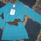 NWT girls sz XS 4/5 Faded Glory peasant style shirt