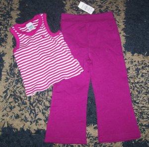 NWT girls 3T Childrens Place/Oshkosh outfit tank/pants