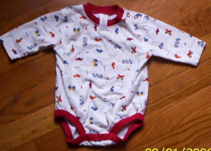 LN ADORable boys 3 mos Carters 1pc on the go shirt