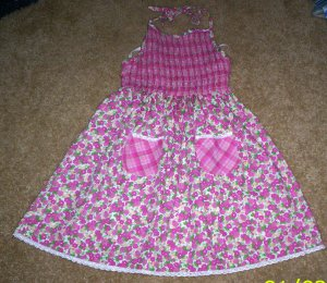 BEAUTIFUL LN girls 6/6x Rachels Kids floral dress