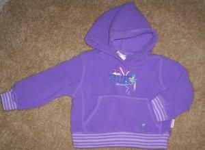 ADORABLE LN girls 3T Disney tinkerbell hoodie shirt
