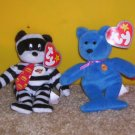 Set of 4 NWT McDonalds TY teenie beenie beanie babies