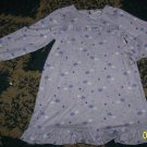 Nice girls 4T Carters ruffled nightgown-stars, clouds