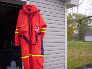 Survival Floatation Suit for Ice Fishing Size 3X