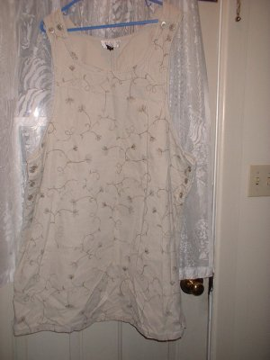 Ladies Plus Size Jumper 3x Khaki/Tan Coloured Soft  ***INCLUDES SHIPPING!!!***