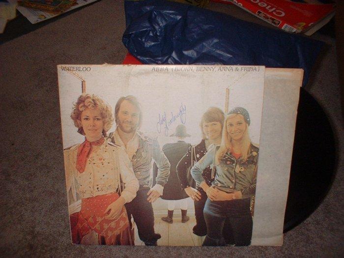 "ABBA ""Waterloo"" Vinyl Record Album (we combine shipping, just ask!)"