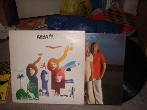 "ABBA ""The Album""  Vinyl Record Album (we combine shipping, just ask!!)"