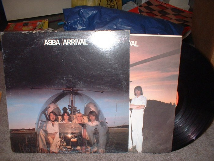 "ABBA ""Arrival""  Vinyl Record (we combine shipping!)"