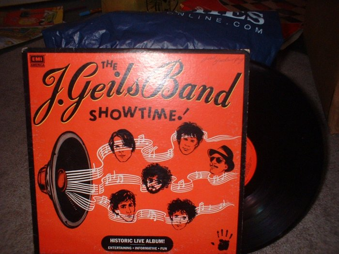 The J. Giels Band Showtime Historic live album record vinyl (we combine shipping)