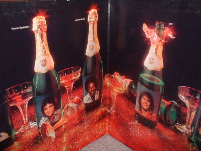 """KC & The Sunshine Band """"Do you wanna go party"""" Record Album Vinyl Vintage 1979 (we combine shipping)"""