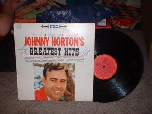 "Johnny Horton's ""Greatest Hits"" Columbia Vinyl Record Album (we combine shipping)"