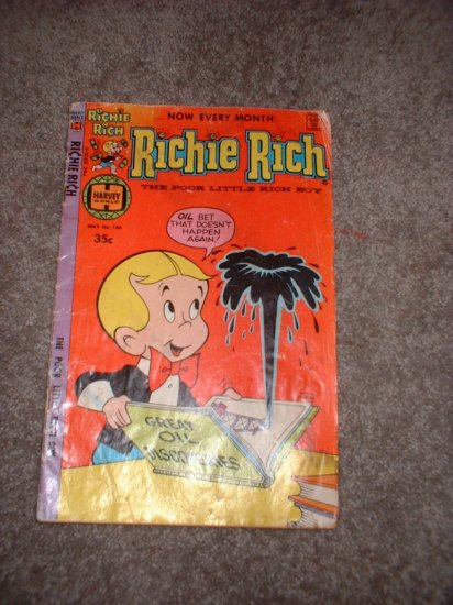 2 Richie Rich Comic Magazines! Cartoon Vintage   **SHIPPING INCLUDED**