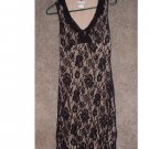"Ladies BLACK lace dress. Size: extra small ""RICKI's"" Store.  **INCLUDING SHIPPING!!"