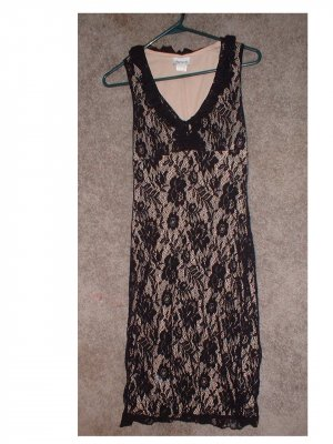 """Ladies BLACK lace dress. Size: extra small """"RICKI's"""" Store.  **INCLUDING SHIPPING!!"""