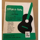 Strum A Song Book 2 by Dick Sadler (Paperback) Published by B. Feldman & Co. Ltd