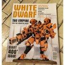 White Dwarf Games Workshop Magazine April 2013