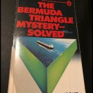Bermuda Triangle Mystery Solved by Lawrence David Kusche (Paperback, 1975)