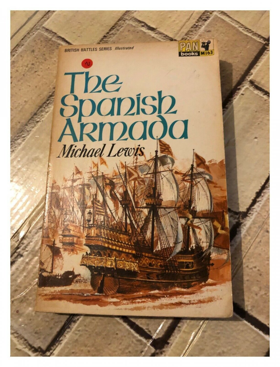 Spanish Armada by Michael Lewis (Paperback, 1966) A Pan Paperback Book M163