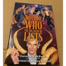 Unofficial Doctor Who: The Big Book of Lists by Cameron K. McEwan Paperback 2015