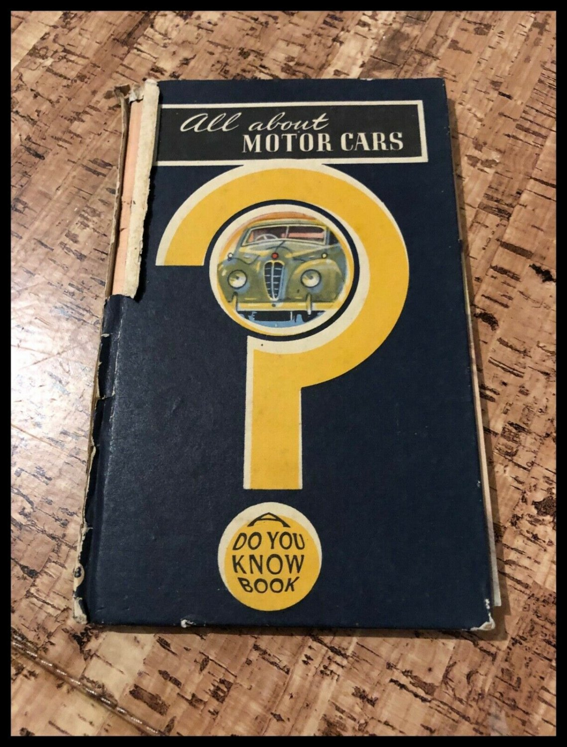 All About Motor Cars A Do You Know Book (Small Boardback Book)
