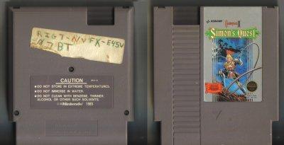 Castlevania II Simon's Quest NES Vintage Game Original Nintendo