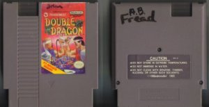 Double Dragon Tradewest NES Vintage Game Original Nintendo