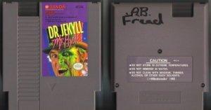 Dr .Jekyll & Mr. Hyde NES Vintage Game Original Nintendo