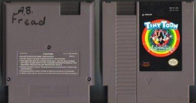 Tiny Toon Adventures Konami NES Vintage Game Original Nintendo