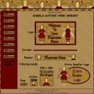 Angels Gather Here Webset - Website Graphics