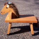 Customized Horse Footstool - Great Gift for the Horse Lover!