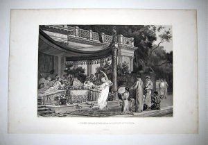 """A summer Repast at the house of Lucullus at Tusculum"""