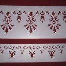 Historic Victorian Stencil Set : Knox Hill Cottage