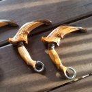 Javanese Kerambit, Indonesian Martial Arts Weapon, Pencak SIlat Knive, Batik Craved