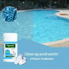 Swimming Pool Cleaning Tablet Water Cleaner 100PCs Tablets Purify Water Crystal