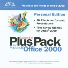 Macmillan Plus Pack for Microsoft Office 2000 CD-Rom
