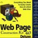 Web Page Construction Kit 4.0 Deluxe