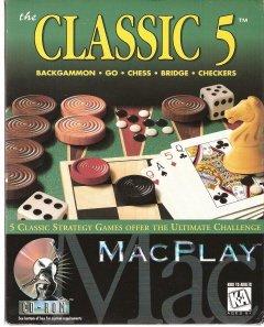 MacPlay the Classic 5 Backgammon, go, Chess, Bridge,Checkers