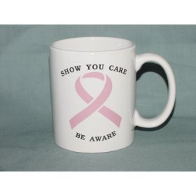 Breast Cancer Awareness Pink Ribbon  Mug