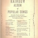 Rainbow Album of Popular Songs Book Two