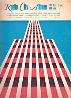 Radio City Album for All Organs Vol. 1.