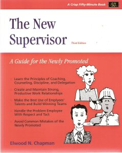 The New Supervisor by Elwood N. Chapman 1560521201