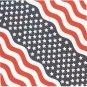 Patriotic Stars And Stripes Bandana