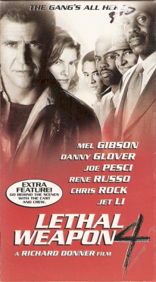 Lethal Weapon 4 Starring Mel Gibson