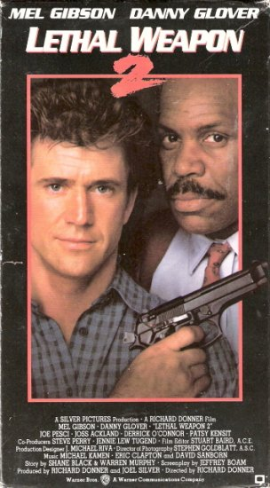 Lethal Weapon 2 Starring Mel Gibson Danny Glover